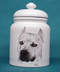 American Staffordshire Terrier Cookie Jar