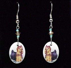 jewearyorter1 Jewelry   Earrings: Yorkshire Terrier