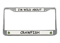 Crawfish License Plate Frame