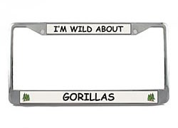 Gorilla License Plate Frame
