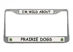 Prairie Dog License Plate Frame