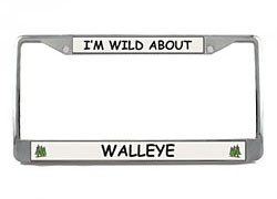 Walleye License Plate Frame