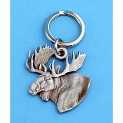 Moose Keychain