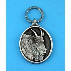 Mountain Goat Keychain