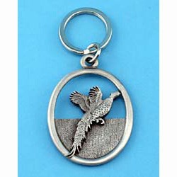 Pheasant Keychain
