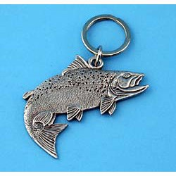 Salmon Keychain