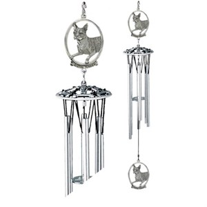 Boston Terrier Windchime