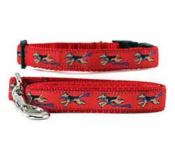 Welsh Terrier Collar & Leash