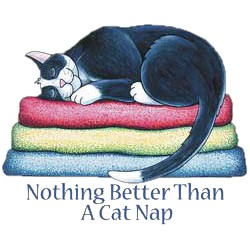 Cat T-Shirt - Cat Nap