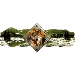 Wolf T-Shirt - Scenic