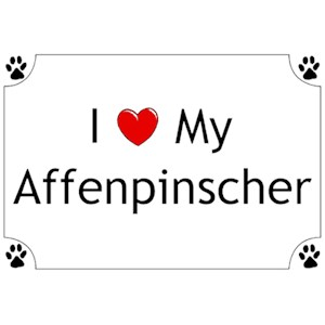 Affenpinscher T-Shirt - I love my