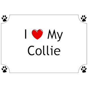 Collie T-Shirt - I love my
