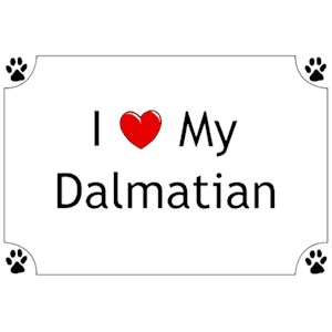 Dalmatian T-Shirt - I love my