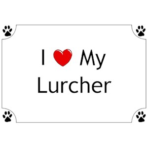 Lurcher T-Shirt - I love my