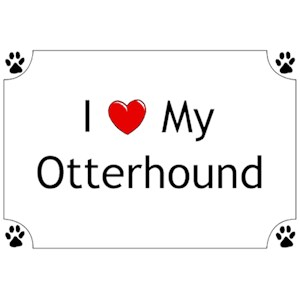 Otterhound T-Shirt - I love my
