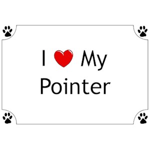 Pointer T-Shirt - I love my