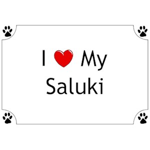 Saluki T-Shirt - I love my