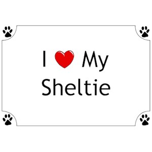 Shetland Sheepdog T-Shirt - I love my