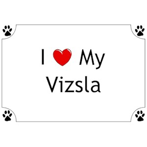 Vizsla T-Shirt - I love my