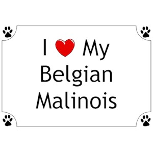 Belgian Malinois T-Shirt - I love my