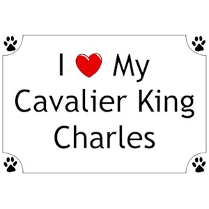 Cavalier King Charles Spaniel T-Shirt - I love my