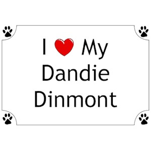Dandie Dinmont T-Shirt - I love my