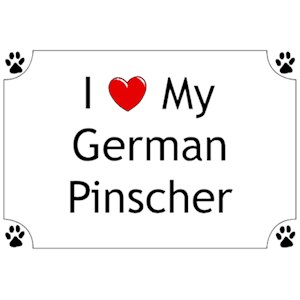 German Pinscher T-Shirt - I love my