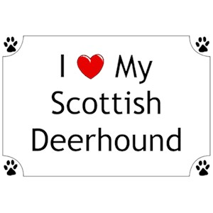Scottish Deerhound T-Shirt - I love my