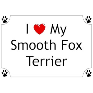 Smooth Fox Terrier T-Shirt - I love my