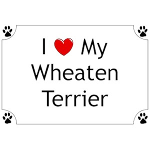 Wheaten Terrier T-Shirt - I love my