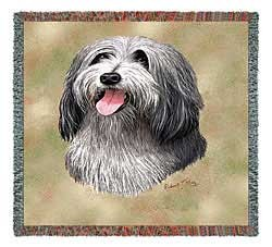 Bearded Collie Blanket