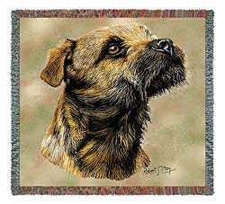 Border Terrier Blanket