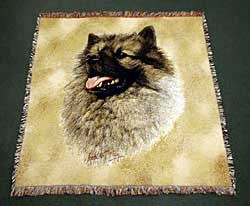 Keeshond Blanket
