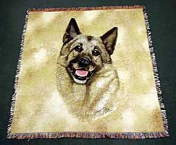 Norwegian Elkhound Blanket