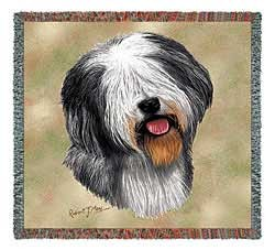 Old English Sheepdog Blanket