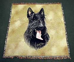 Scottish Terrier Blanket