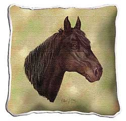 Morgan Horse Pillow