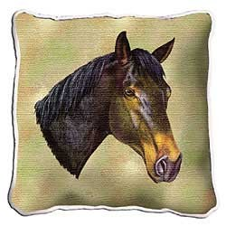 Thoroughbred Horse Pillow