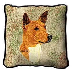Basenji Pillow