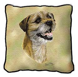 Border Terrier Pillow