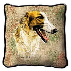 Borzoi Pillow