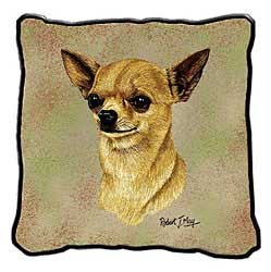Chihuahua Long Hair Pillow