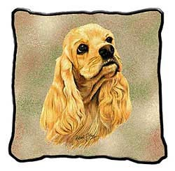 Cocker Spaniel Pillow