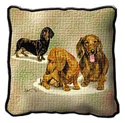 Dachshund Puppies Pillow