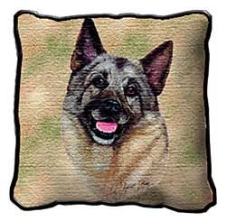 Norwegian Elkhound Pillow