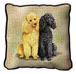 Poodle Pillow