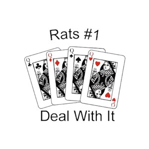 Rat T-Shirt - #1... Deal With It