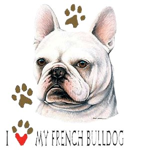 French Bulldog T-Shirt - #1... Deal With It