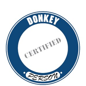 Donkey T-Shirt - Certified Person