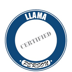 Llama T-Shirt - Certified Person